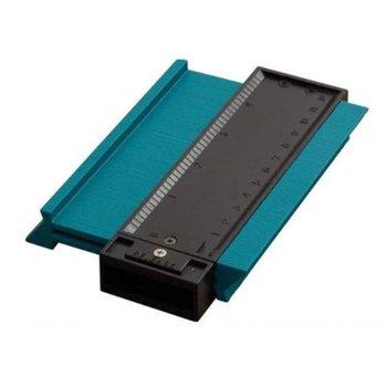 Kontur przyrząd pomiarowy profil kopiowanie linijka wielofunkcyjne narzędzie do drewna nieregularny kontur Gauge Arc Gauge tanie i dobre opinie ACEHE ANALOG blue universal angle ruler