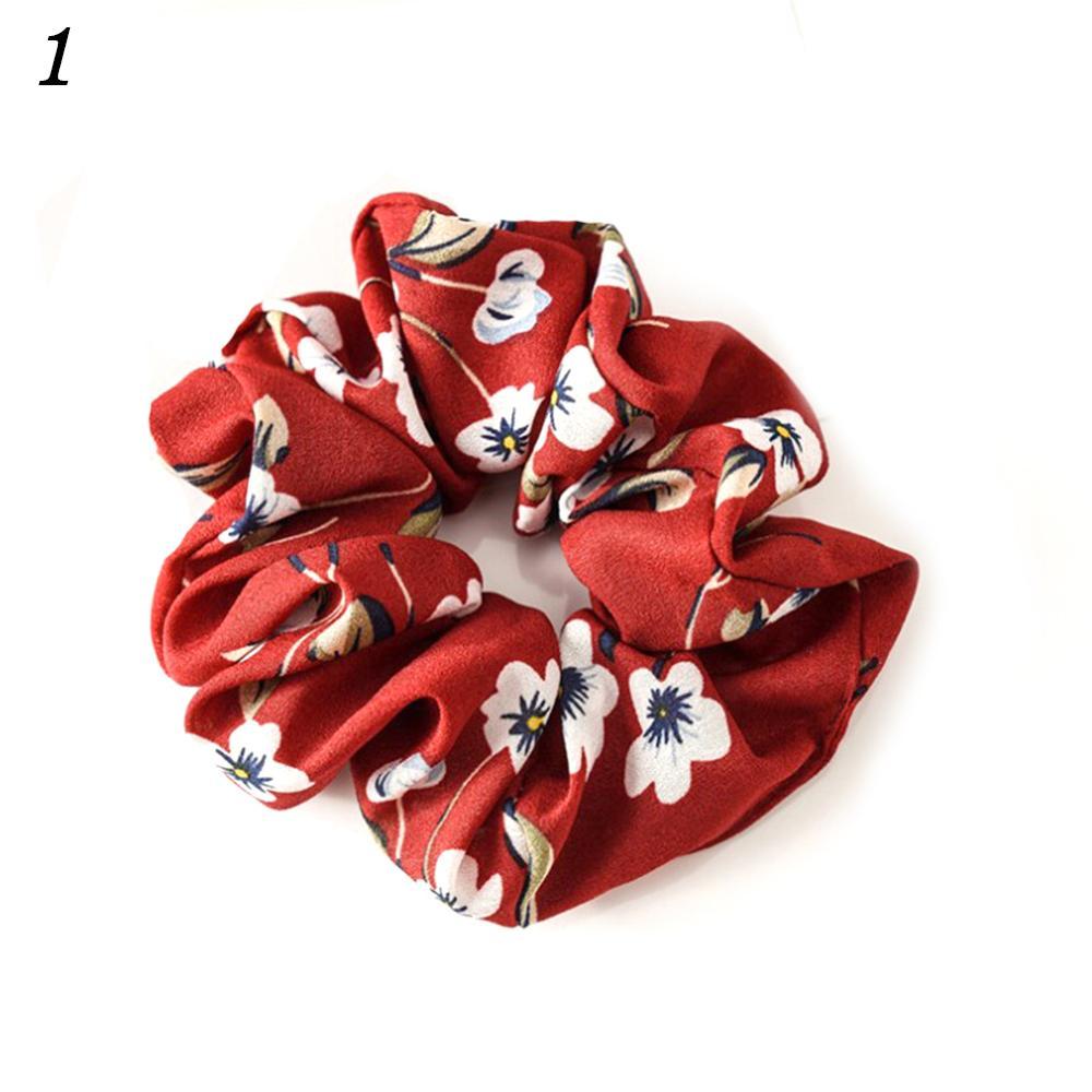 Корейский женский ободок для волос для девочек, полосатые женские резинки для волос, конский хвост, Женский держатель, веревка с ананасовым принтом, аксессуары для волос - Цвет: w1