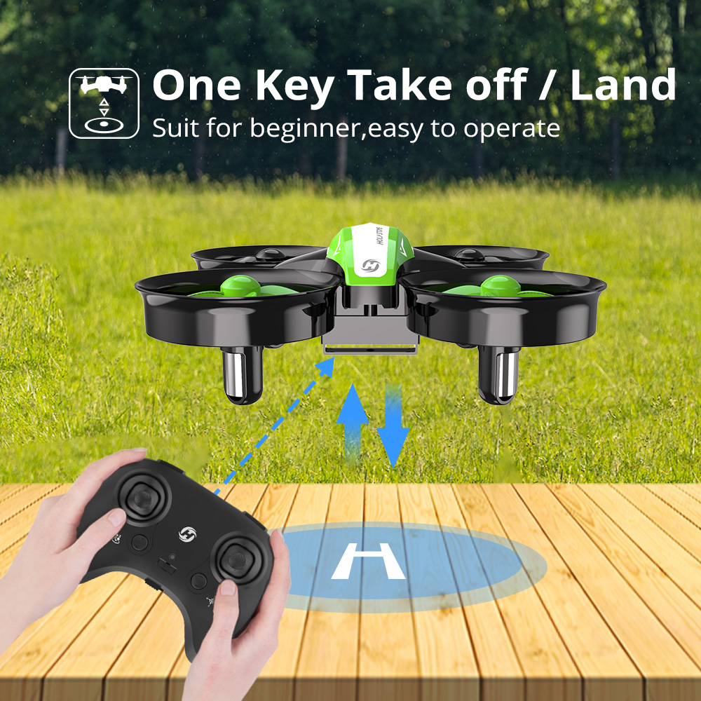 Holy Stone HS210 Mini Drone One Key Take off/Land Auto Hovering 3D Flip Mini Nano Drone RC Helicopter Quadrocopter For Kids 3