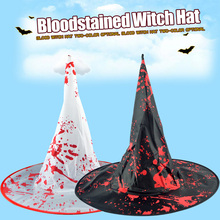 Black Witch Hats Masquerade Wizard Hat Party Hats Cosplay Halloween Party Fancy Dress Decor Top Hat halloween party witch wizard hats solid color kinitted wool hats for halloween party masquerade cosplay costumecm