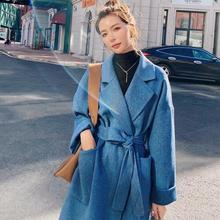 100% wolle mantel für frauen winter jacke 2020 neue ankunft doppelseitige kaschmir alpaka mantel frauen lange woolen mantel
