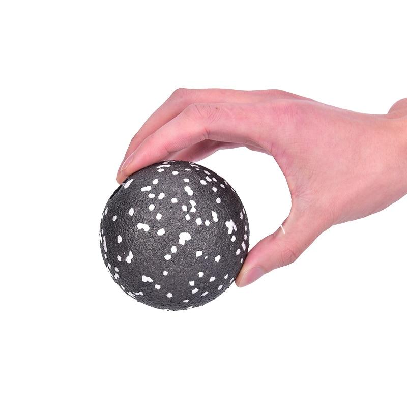 1pc 8CM Health Fitness Massage Ball Yoga Myofascial Release Fascia Body Pilates Gym Sport Ball Massager