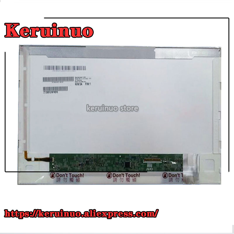 LTN125AT02 B125XW02 V.0 B125XW02 V0 LP125WH1 For <font><b>HP</b></font> <font><b>2560p</b></font> 2570p laptop lcd <font><b>screen</b></font> display 1366*768 12.5 inch image