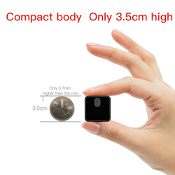 HiLEME 25 Hours Continuously Work Wireless WIFI Camcorder Home Security Mini Camera WIFI 1080P Night Vision hide TF card