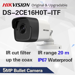 DS-2CE16H0T-ITF 5 MP Bullet Camera 4 in 1 video output (switchable TVI/AHD/CVI/CVBS)