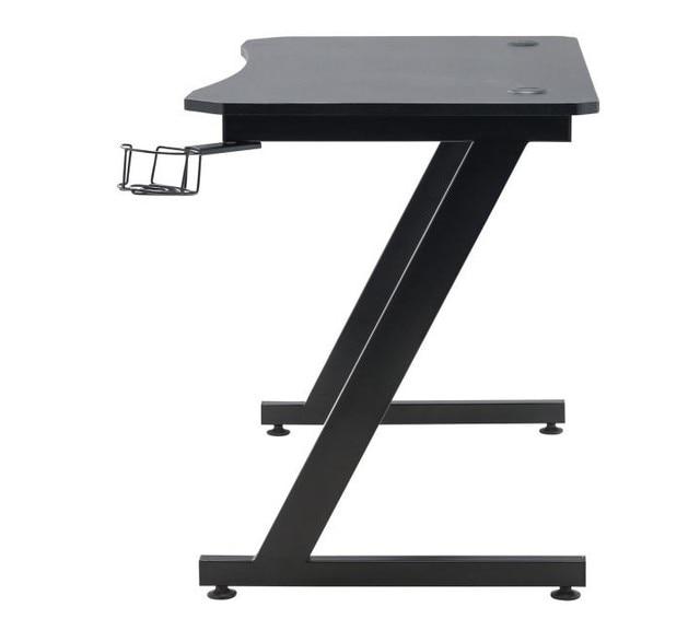 110x74x74cm Z Shape PC Desk Laptop Computer Desk For Gamer Gaming Table Bedroom Living Room Furniture Table For Studying Gaming