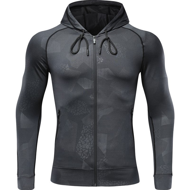 Thin Type For Spring And Autumn Hoodie Zipper Cardigan Hooded Long Sleeve Customizable Sports Jackets Printed Words Logo Cool Ca