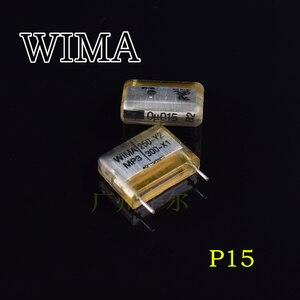 10 шт. WIMA MP3-Y2 250VAC 0,015 мкФ X1 300VAC P15MM аудио конденсатор с алюминиевой крышкой, 153 MP3 0,015 мкФ/300VAC 15nf 250-y2 300-x1 153/300vac 0u015