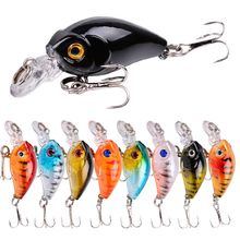 Floating Minnow Hard Fishing Lures 45mm 4g Wobbler Swimbait Artificial Bait With Treble Hook Crankbaits Bass Tackle