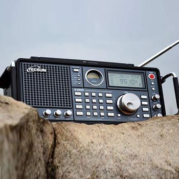 TECSUN S-2000 HAM Portable Radio SSB Dual Conversion PLL FM/MW/SW/LW Air Band Amateur 87-108MHz/76-108 MHz Internet Radio 6
