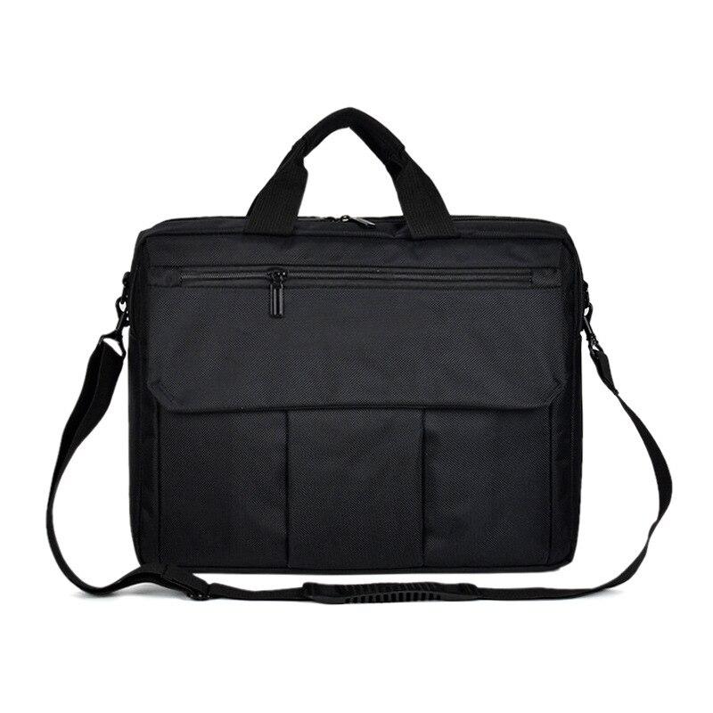 1PCS  One Shoulder Insurance Business Exhibition Bag Male Woman 14 Inch File Briefcase 15 Inch Laptop Bag Simplicity