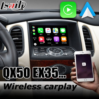 Carplay interface box for Infiniti QX50 / EX35 J50 2012-2017 with G Q70 QX60 QX70 QX80 EX25 Android auto youtube play image