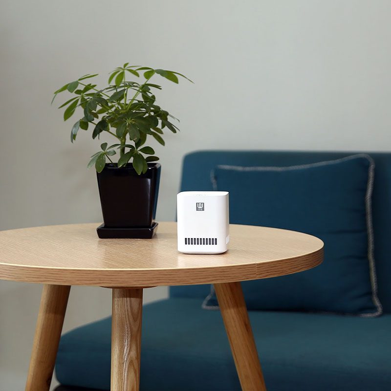 Image 2 - New XIAOMI MIJIA LingWu Air Purifier Miniature photocatalyst addition to formaldehyde wireless 2000mAh Battery Air Wash Cleaner-in Air Purifiers from Home Appliances