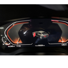 תא טייס דיגיטלי סרט לוח מחוונים פנל כיסוי ניווט מגן זכוכית LCD תצוגת מסך סרט עבור BMW סדרת 5 G30 G31 2020