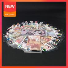 Ayevin 52 шт. заметок из 28 стран UNC НАСТОЯЩИЕ Оригинальные банкноты заметки с красным конвертом в сумку подарок для мировых заметок, коллекционн...