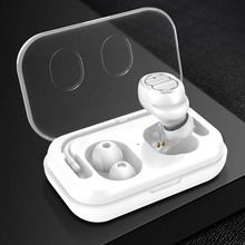 1PCS Mini Bluetooth Earphone Wireless In-ear Jogging Headset Touching Headsets for All Phones Sport SP99