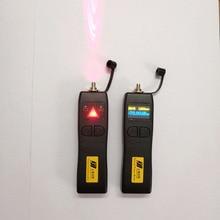 FTTH aracı kiti ile Mini optik güç ölçer lazer fiber 10mw görsel hata bulucu 10km VFL