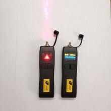 Kit de ferramentas ftth com mini medidor de potência óptica fibra a laser 10mw localizador visual falha 10km vfl