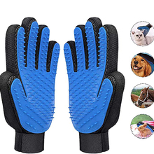 Pet Glove Cat And Dog Grooming Gloves Cat Hair Deshedding Brush for Cats&Dogs Bath Massage