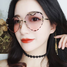 Солнцезащитные очки без оправы женские винтажные дизайнерские