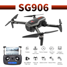 SG906 profissional optical flow camera drone 4K HD GPS WiFi FPV Brushless motor propeller Long Battery air RC dron Quadcopter все цены