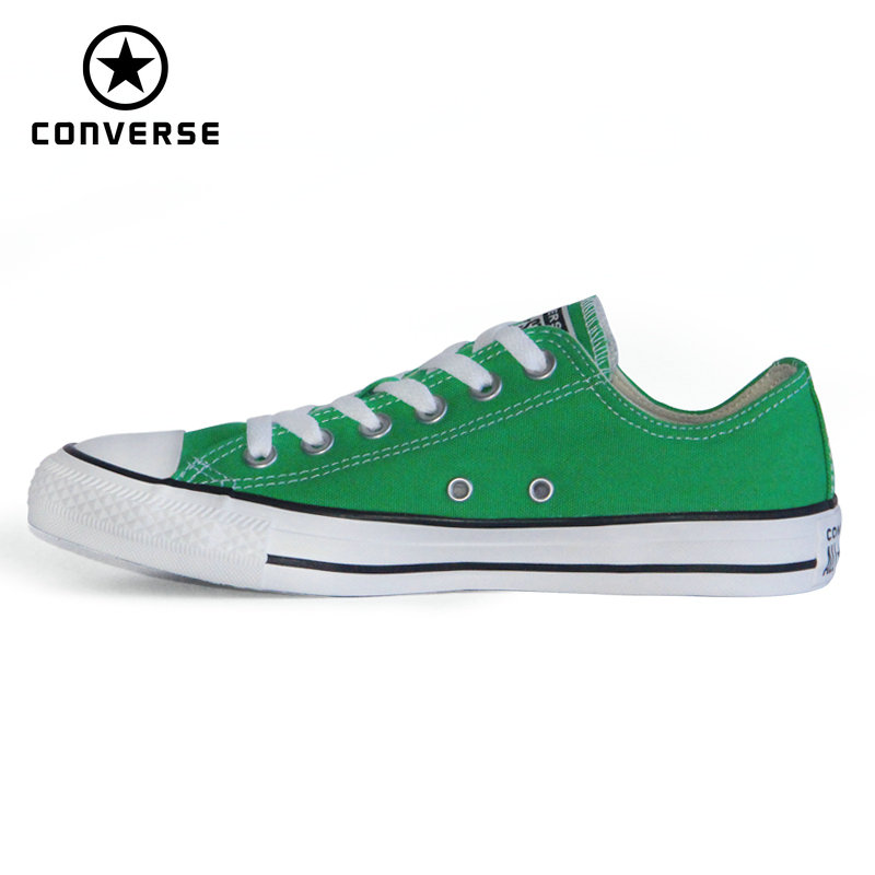 New 2020 Original CONVERSE Chuck Taylor All Star Man And Women Sneakers Green Color Style Low Skateboarding Shoes 164939C