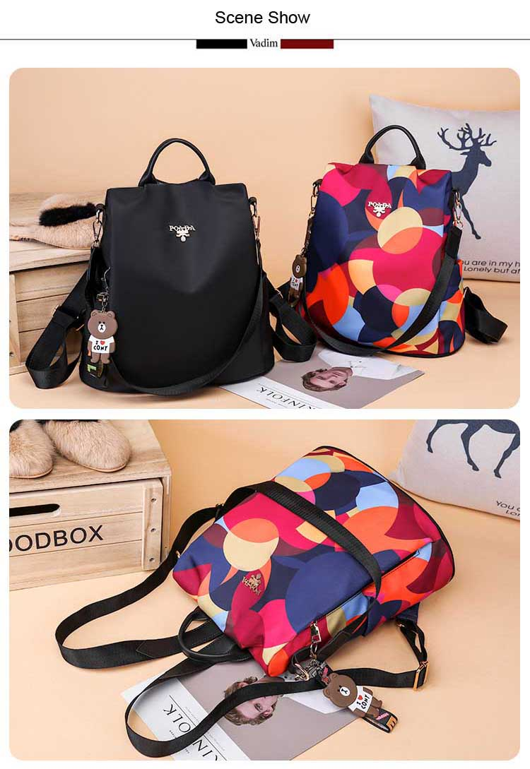 H90e748d4e16c4a84b11c720b5a76079cr - Vadim New Fashion Women Backpacks  Waterproof Oxford Backpack Female Anti Theft Bagpacks School Bags for Girls Mochila Mujer
