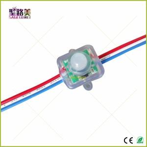 Image 4 - 500Pcs DC5V /DC12V Ws2811 Vierkante Led Pixels Modules T1515 12Mm Led Module Verlichting String IP68 Waterdichte Adresseerbare digitale