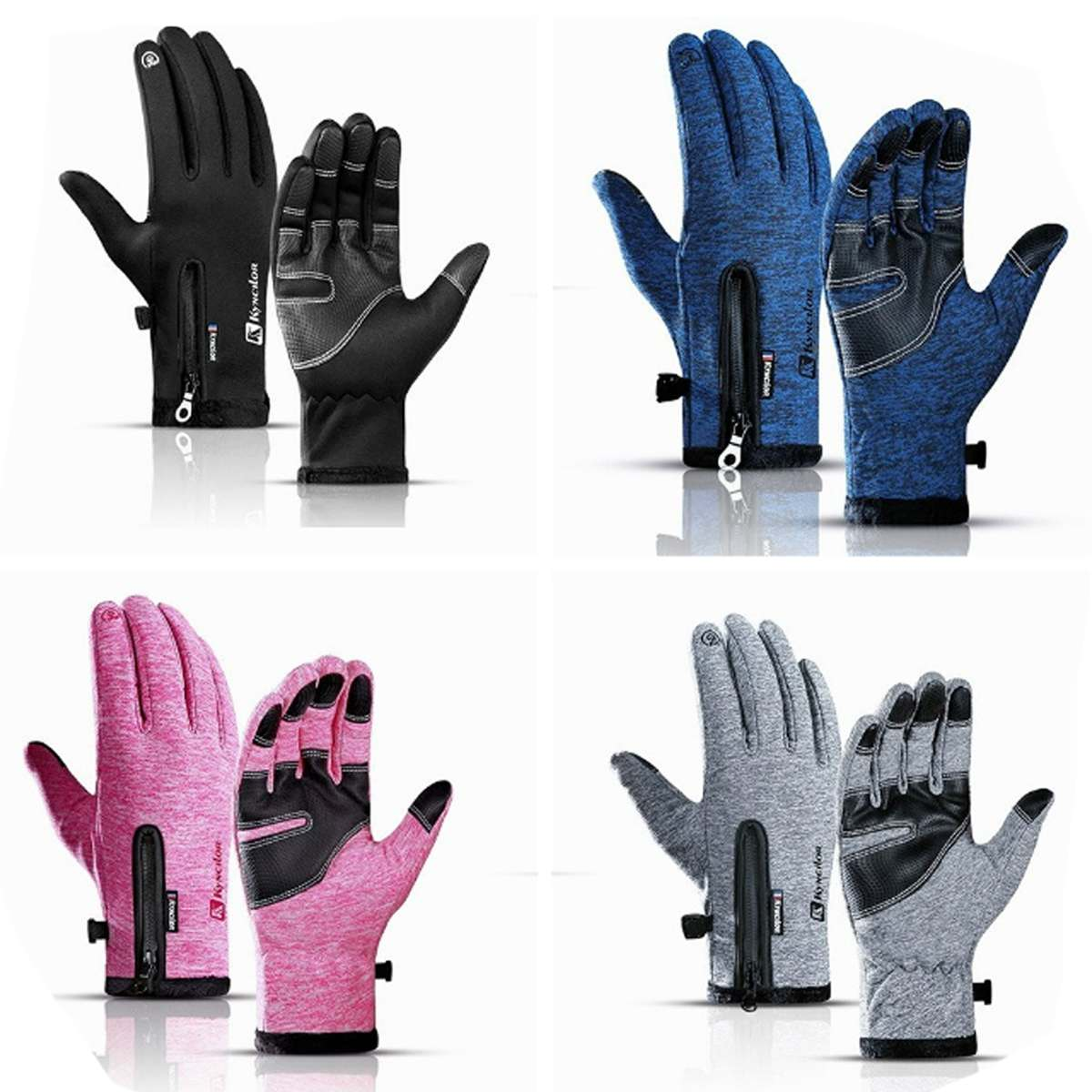 Ski Gloves Touch Screen Men Women Guantes Car Auto Thermal Warm Gloves Motorcycle Motocross Hand Muff Warmer Waterproof