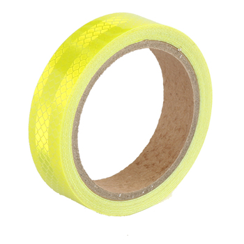 25MMX3M Red White Yellow Micro Prismatic Sheeting Reflective Tape Stickers Bike Reflector Stickers Bicycle Light Reflectors Tape 13