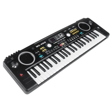 ABUO-MQ Mq-4912 49 Key Music Digital Electronic Keyboard Piano with Microphone- Portable for Kids & Beginners