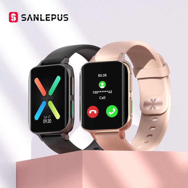 SANLEPUS 2021 New Smart Watch Men Women Dial Call Watch Waterproof Smartwatch MP3 Player For OPPO Innrech Market.com