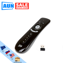 AUN Mini Fly Air Mouse 2,4G inalámbrico remoto Android Tv Box Android proyector detección de movimiento juego BBDFS 1