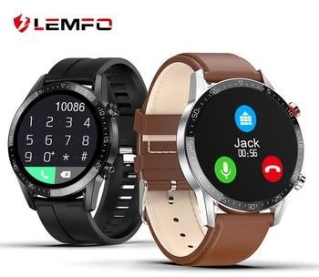 LEMFO L13 ECG smart watch man IP68 waterproof Bluetooth heart rate GT2 GTR Smartwatch for Huawei Xiaomi IOS mobile