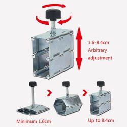 Składany regulator wysokości płytek Riser Lift Leveler Top Locator narzędzie do układania płytek