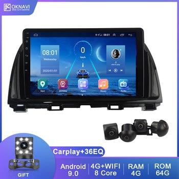 9 Inch Android 9.0 2 Din For Mazda CX5 CX 5 2012-2015 Car Multimedia Player Radio Stereo GPS Navigation Carplay DSP BT WIFI 4G 2 din car multimedia player 9 inch android 8 1 radio for mitsubishi pajero sport 2013 2018 gps navigation stereo