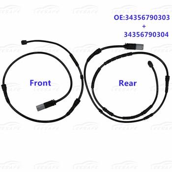 цена на Front+ Rear Brake Pad Wear Sensor Set for BMW X3 F25 X4 F26 Auto Car Accessory Brake Lines OEM NO 34356790303+34356790304