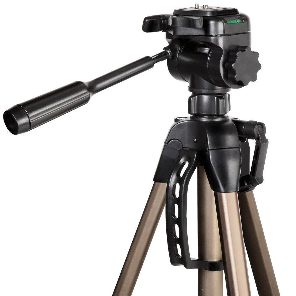 3 voies tête 61-160cm professionnel caméra trépied support pour Canon Nikon Sony DSLR caméra caméscope Mini portable trépied pour téléphone - 3