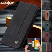 Leather Flip A82 A22 A32 A52 A72 Case For Samsung Galaxy A02 A12 A42 A51 A71 A21 A41 A31 A70 A50 A40 A20 A10 M51 M31 S E Cover