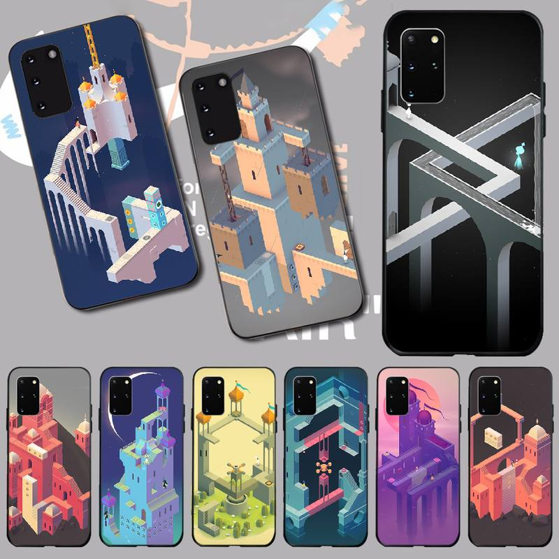Penghuwan Monument Valley Game Wallpaper Phone Case For Samsung S20 Plus Ultra S6 S7 Edge S8 S9 Plus S10 5g Phone Case Covers Aliexpress
