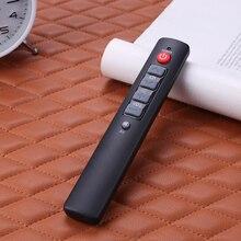 3Pcs 6 Key Leren Afstandsbediening Voor Tv Stb Dvd Dvb Hifi Grote Knoppen Controller Met Back Lit gemakkelijk Gebruik Voor Oudere 10M Lancering