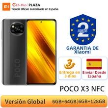 Versión Global POCO X3 NFC 128GB ROM 6GB Smartphone Snapdragon 732G 64MP Quad Cámara 6,67