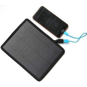 10W Solar Panel USB Port Campi