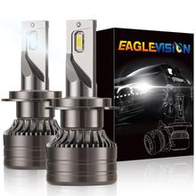 High Power H7 LED Headlight Bulb 60w 6000LM Extremely Bright 6000K Cool White CSP Chips Conversion Kit Adjustable Beam Light 12V