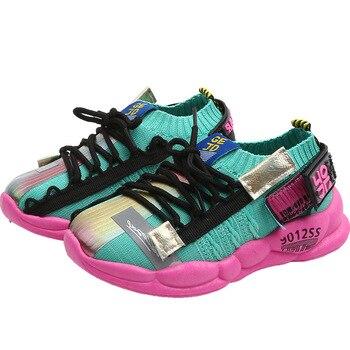 tenis infantil kids sneakers for girls boys mesh kids shoes baby rubber children sneakers sport running toddler