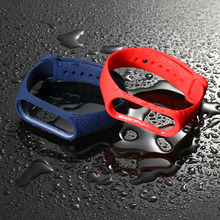 For Xiaomi Mi Band 3 Bracelet Strap Miband Silicone Soft Wrist for Banda Smartband M3