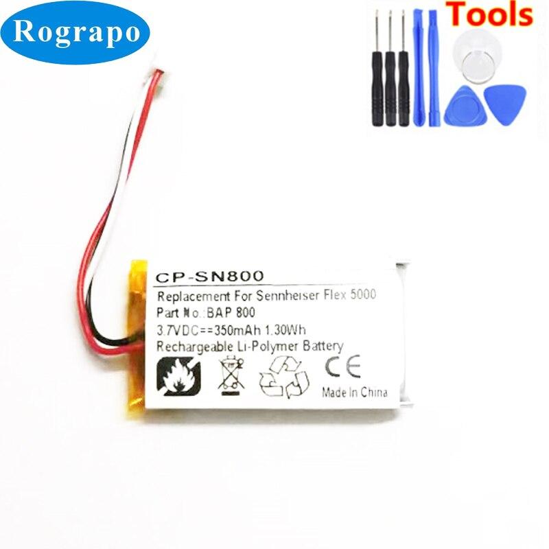 Li-Polymer Akku Batterie von vhbw für SENNHEISER SET 900 RI900 RI830