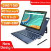 2021 Original 4G 10.8 Inch 2 In 1 Laptop Tablet Android 8.0 MTK6797 Deca Core Dual 4G Phone Tablet Gaming 2560*1600 13MP Camera