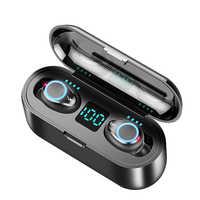 TWS Mini basse Bluetooth écouteurs sans fil casque stéréo casque sans fil écouteurs avec micro 2000 mAh étui de charge