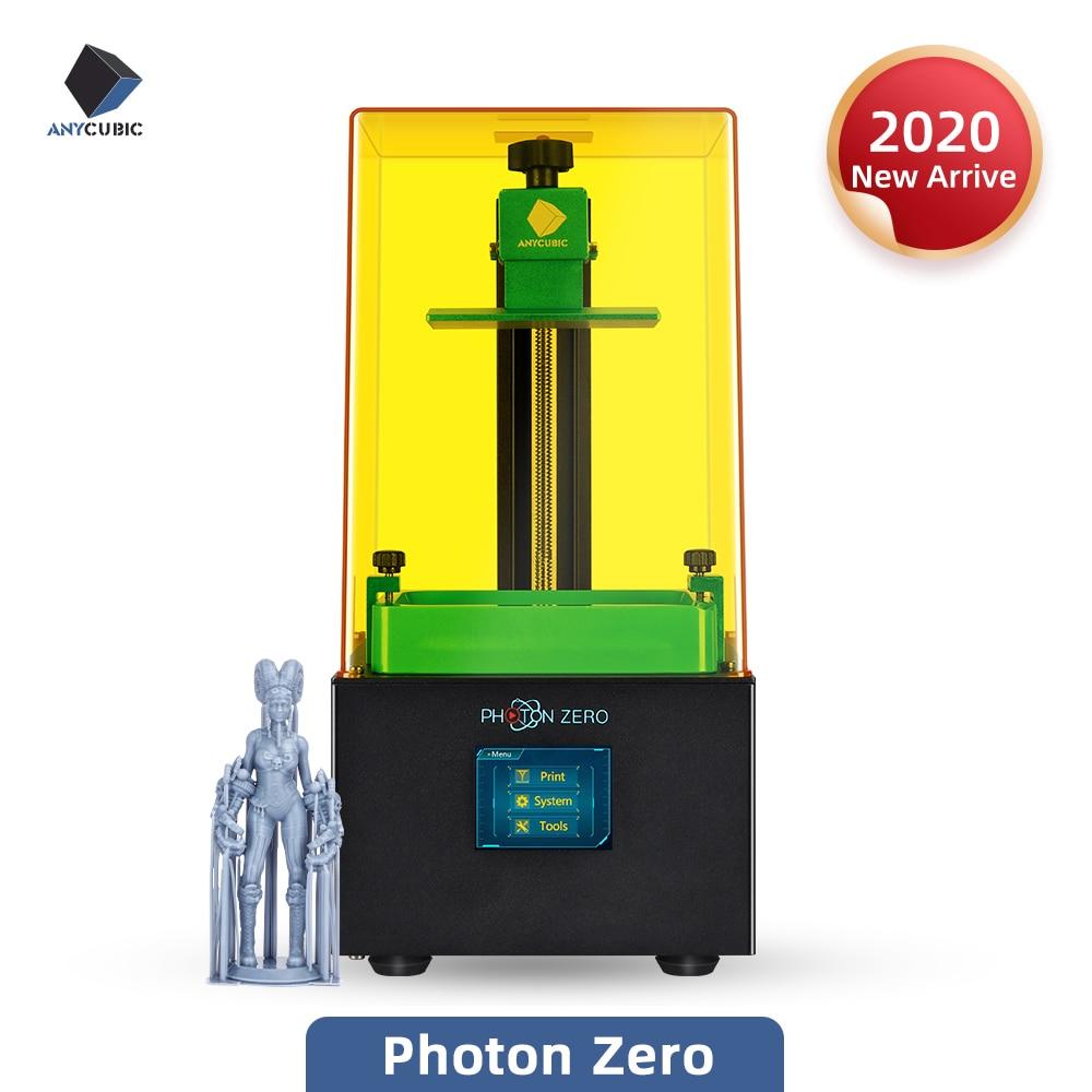 ANYCUBIC Photon Zero 2020 Newest 3D Printer Quick Slice Big Print Volume SLA LCD 3d Printer Upgraded UV Module Impresora 3d(China)